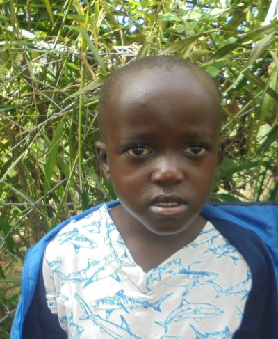 Click Joseph's picture to sponsor him - He is 5 years old, loves writing, and wants to be an engineer.