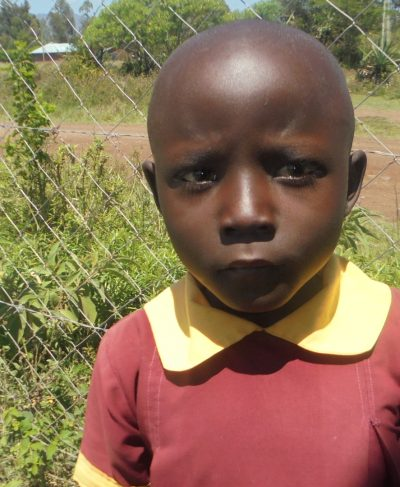 Click Beryl's picture to sponsor her - She is 8 years old, loves writing, and wants to be a doctor.