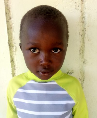 Click Calvin's picture to sponsor him - He is 5 years old, loves drawing, and wants to be a teacher.