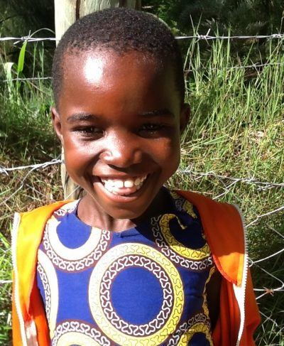 Click Catherine's picture to sponsor her - She is 6 years old, loves math, and wants to be a doctor.