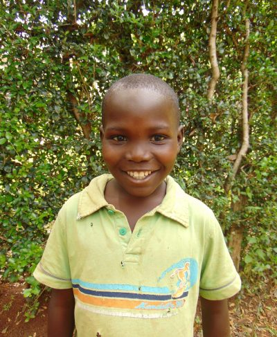 Click Victor's picture to sponsor him - He is 10 years old, loves football, and wants to be a pastor.