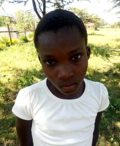 Click Ephy's picture to sponsor her - She is 8 years old, loves school, and wants to be a teacher.