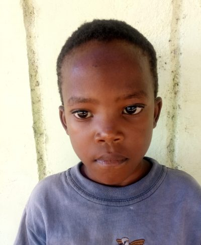 Click Geofry's picture to sponsor him - He is 5 years old, loves drawing, and wants to be a pilot.