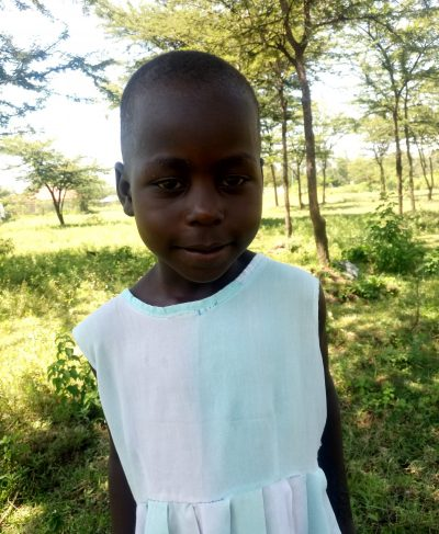Click Hilda's picture to sponsor her - She is 6 years old, loves drawing, and wants to be a teacher.