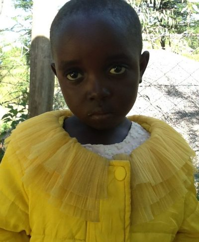 Click Joy's picture to sponsor her - She is 7 years old, loves school, and wants to be a doctor.