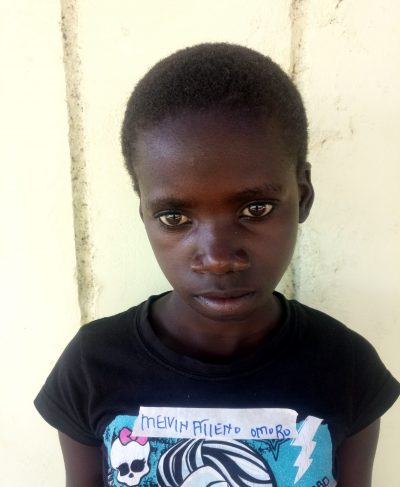 Click Melvine's picture to sponsor her - She is 14 years old, loves English, and wants to be a teacher.
