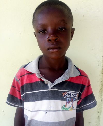 Click Ostine's picture to sponsor him - He is 10 years old, loves science, and wants to be a doctor.