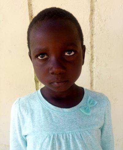Click Precious's picture to sponsor her - She is 7 years old, loves drawing, and wants to be a teacher.