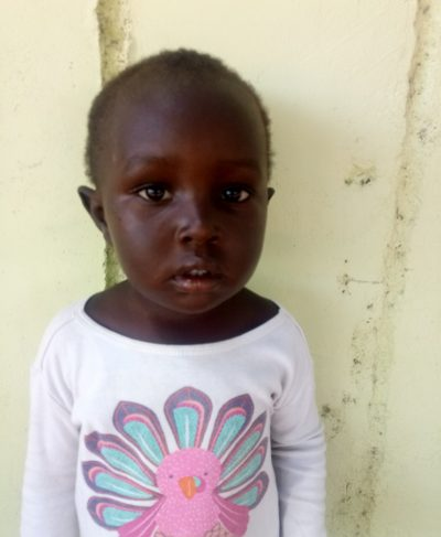 Click Rollince's picture to sponsor him - He is 4 years old, loves drawing, and wants to be a nurse.