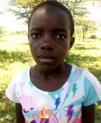 Click Sharon's picture to sponsor her - She is 12 years old, loves school, and wants to be a nun.
