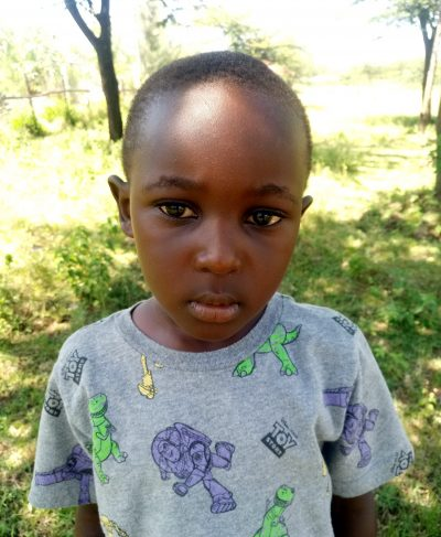 Click Simon's picture to sponsor him - He is 6 years old, loves math, and wants to be a doctor.
