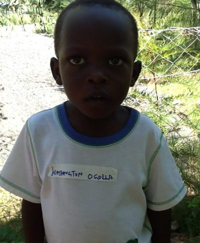 Click Washington's picture to sponsor him - He is 6 years old, loves painting, and wants to be a teacher.