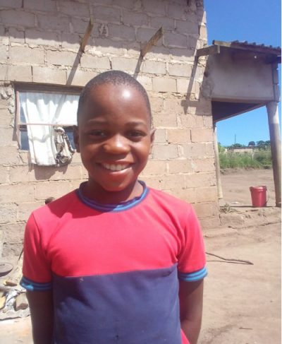 Click Bandzile's picture to sponsor him - He is 9 years old, loves English, and wants to be a solider.