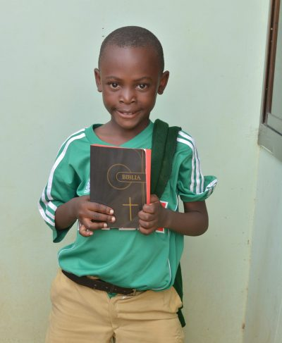 Click Eliakim's picture to sponsor him - He is 9 years old, loves to read, and wants to be a doctor.