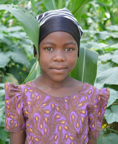 Click Tatu's picture to sponsor her - She is 9 years old, loves math, and wants to be a teacher.