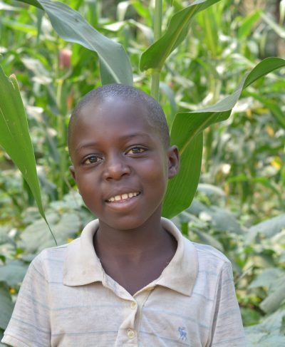 Click Furaha's picture to sponsor him - He is 10 years old, loves to study, and wants to be a doctor.