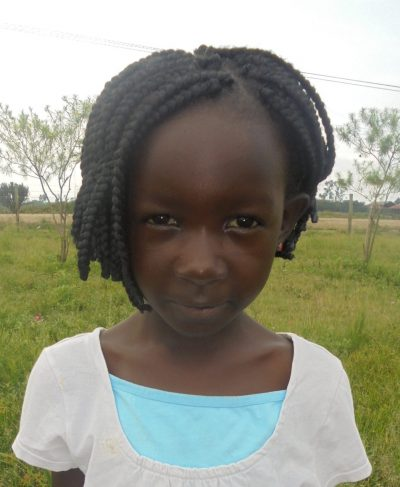 Click Harriet's picture to sponsor her - She is 5 years old, loves art, and wants to be a teacher.