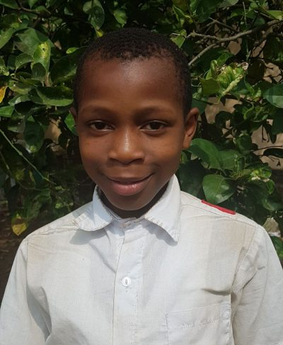 Click James's picture to sponsor him - He is 11 years old, loves school, and wants to be a police officer.