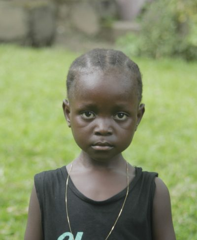 Click Liz's picture to sponsor her - She is 5 years old, loves drawing, and wants to be a driver.