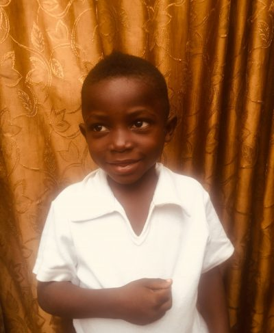 Click Timothe's picture to sponsor him - He is 5 years old, loves to play, and wants to be a doctor.