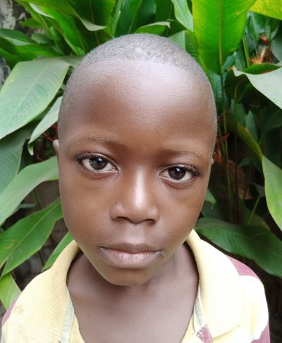 Click Musa's picture to sponsor him - He is 8 years old, loves French, and wants to be a teacher.