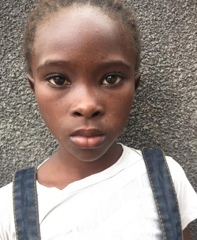 Click Marina's picture to sponsor her - She is 9 years old, loves French, and wants to be a doctor.
