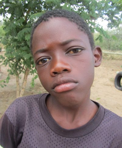 Click Wilfried's picture to sponsor him - He is 11 years old, loves to study, and wants to become a lawyer.