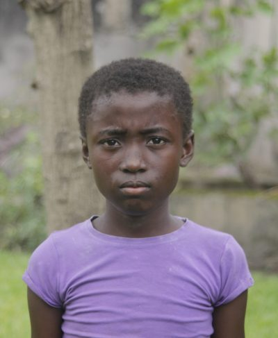 Click Ketsia's picture to sponsor her - She is 11 years old, loves science, and wants to be a seamstress.