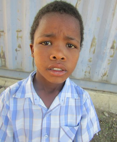 Click Jeffrey's picture to sponsor him - He is 10 years old, loves Afrikaans, and wants to be a firefighter.