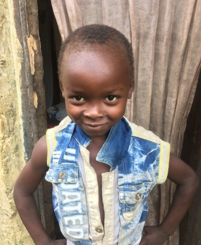 Click Chavina's picture to sponsor him - He is 6 years old, loves to play, and wants to be a mechanic.