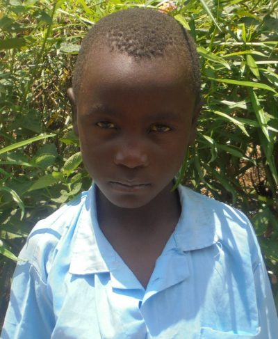 Click Javan's picture to sponsor him - He is 8 years old, loves math, and wants to be a farmer.