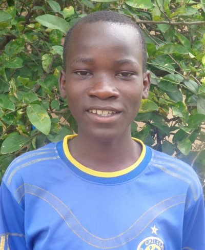 Click Justine's picture to sponsor him - He is 14 years old, loves biology, and wants to be a doctor.