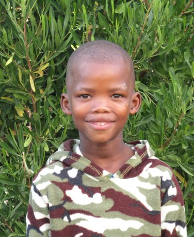 Click Browney's picture to sponsor him - He is 8 years old, loves writing, and wants to be a soccer player.