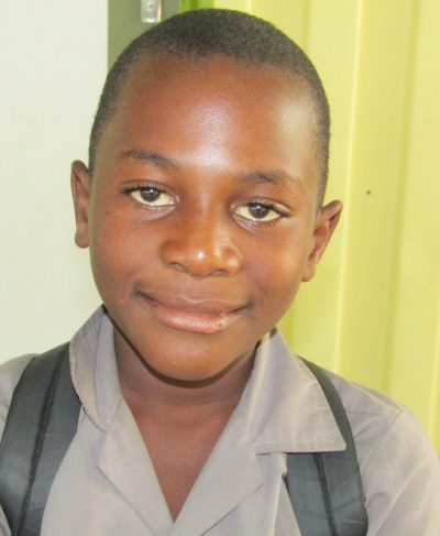 Click Haufiku's picture to sponsor him - He is 10 years old, loves English, and wants to be a police officer.
